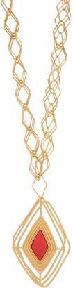 Aurelie Bidermann Filo gold-plated necklace