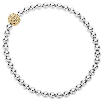 Women's Lagos Caviar Icon Ball Bracelet $395 thestylecure.com