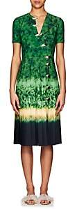 Altuzarra Women's Ilari Tie-Dyed Dress-Ceramic Green