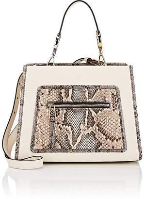 Fendi Women's Runaway Small Leather & Python Tote Bag