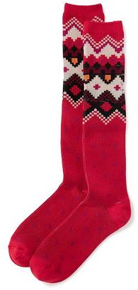 Fair Isle Boot Socks for Women $9 thestylecure.com
