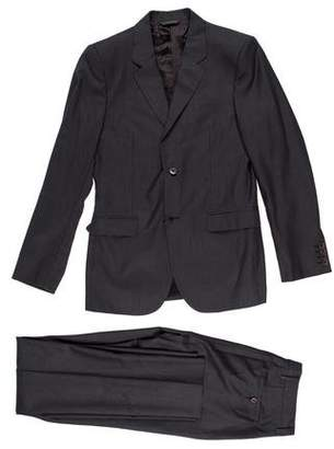 Calvin Klein Collection Wool Notch-Lapel Suit w/ Tags