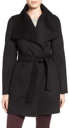 Women's Tahari 'Ella' Belted Double Face Wool Blend Wrap Coat $169.90 thestylecure.com