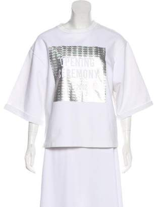 Opening Ceremony Holographic Knit Sweater