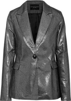 Walter W118 By Baker Elena Metallic Cotton-blend Blazer
