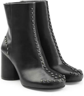 Maison Margiela Studded Black Ankle Boots