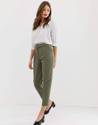 Oasis tapered pants in khaki