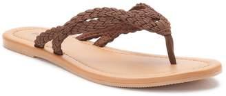 Sonoma Goods For Life Women's SONOMA Goods for Life Braided Thong Sandals