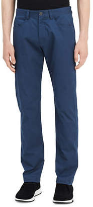 Calvin Klein Four-Pocket Sateen Bowe Pants