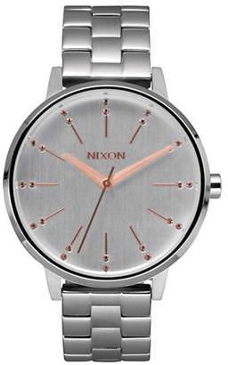 Nixon Analog Kensington Rose Goldtone Watch