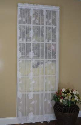 Curtain Chic Seashells Lace Panel