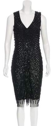 Hotel Particulier Embellished Midi Dress w/ Tags