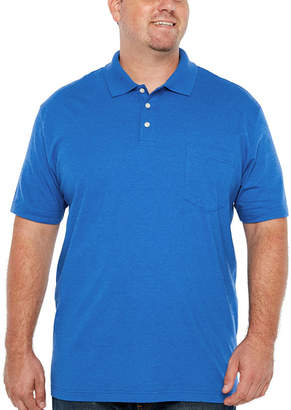 Co THE FOUNDRY SUPPLY The Foundry Big & Tall Supply Short Sleeve Jersey Polo