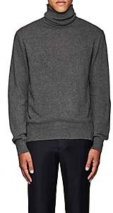Officine Generale Men's Cashmere Turtleneck Sweater - Gray