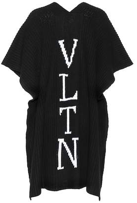 Valentino VLTN virgin wool poncho