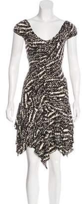 Betsey Johnson Short Sleeve Knee-Length Dress