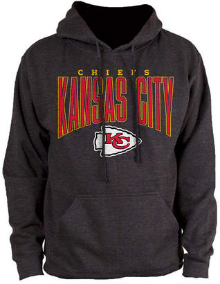 Authentic Nfl Apparel Men's Kansas City Chiefs Defensive Line Hoodie