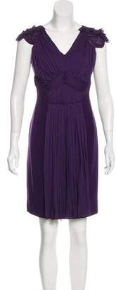 Alberta Ferretti Virgin Wool-Blend Dress
