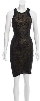 Torn By Ronny Kobo Sleeveless Knee-Length Dress