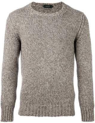 Zanone fisherman knit sweater