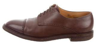 John Lobb Grained Leather Derby Shoes