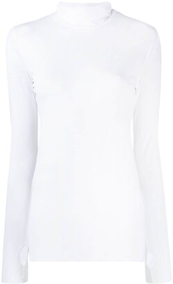 Schumacher Dorothee thumb hole roll neck top