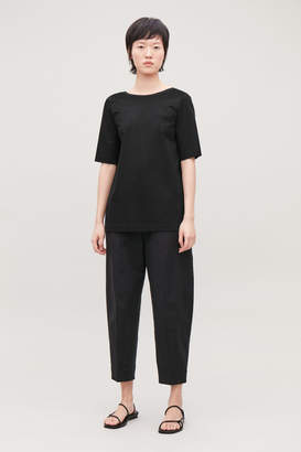 Cos LOW-BACK T-SHIRT