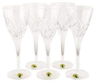 Waterford Set of 5 Crystal Merrill Wine Glasses w/ Tags
