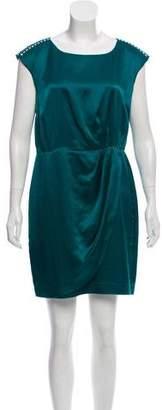 Cynthia Steffe Silk Green Dress