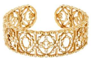 Judith Ripka 18K Diamond Cuff