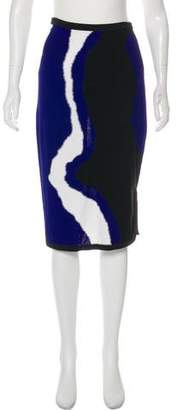 Ohne Titel Knee-Length Pencil Skirt