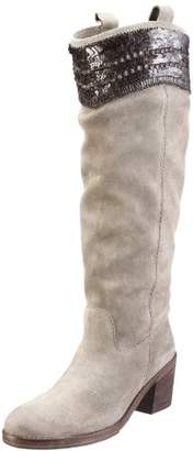 Coral Blue Coral-blue Women's CB.K311010 Boots Gray Size: 7