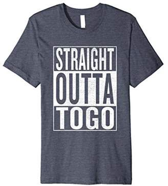 IDEA Straight Outta Togo Great Travel & Gift T-Shirt