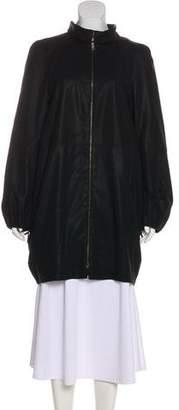 Akris Oversize Knee-Length Coat