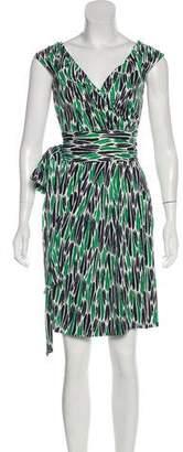 Diane von Furstenberg Celosa Sleeveless Wrap Dress