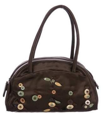 Prada Embellished Satin Handle Bag