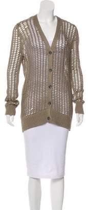 ATM Braided Crochet Cardigan