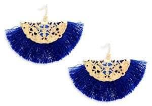 Panacea Fringe Drop Earrings