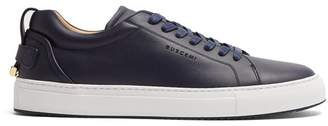 Buscemi - Lyndon Low Top Leather Trainers - Mens - Navy