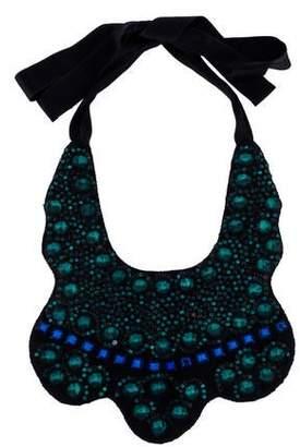 Marni Crystal Bib Necklace