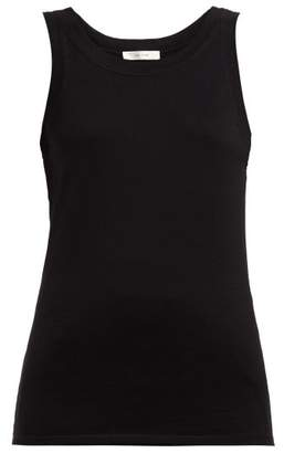 The Row Frankie Cotton Cashmere Jersey Tank Top - Womens - Black