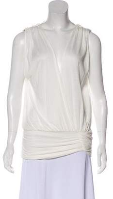 Alice + Olivia Sleeveless Plunging Neck Top w/ Tags
