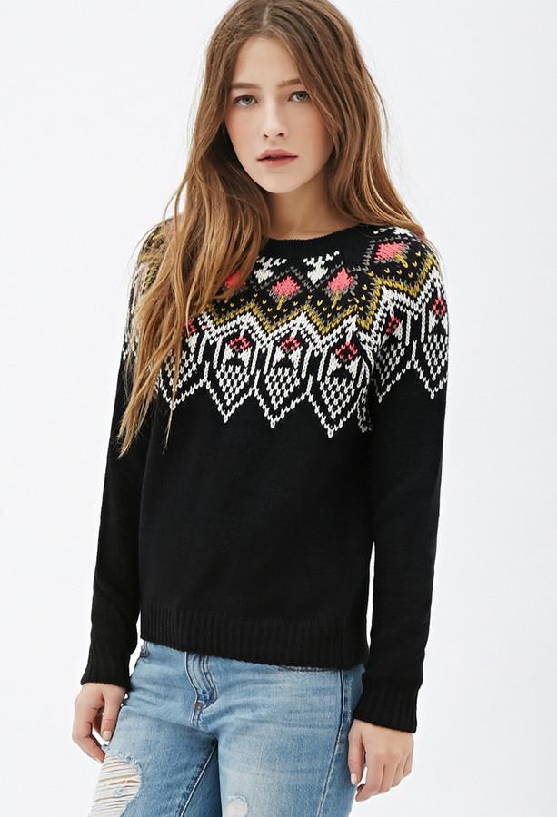 Forever 21 Fair Isle Sweater