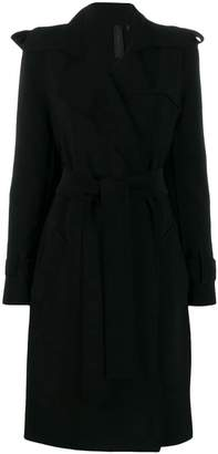 Norma Kamali belted trench coat