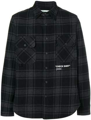 Off-White checked shirt