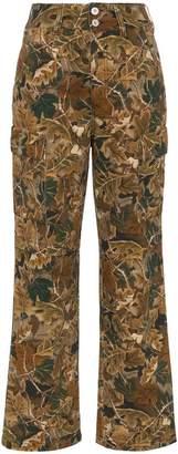 Heron Preston camo combat trousers
