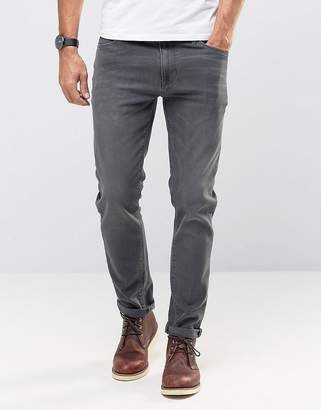 Asos DESIGN Skinny Jeans In Dark Gray