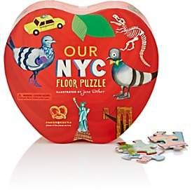 Cardborders NYC Floor Puzzle-Red