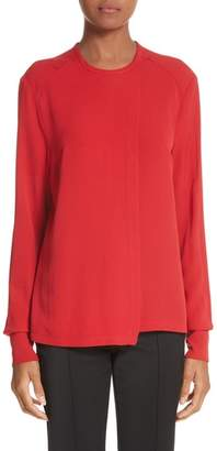 Yigal Azrouel Silk Georgette Top
