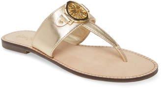 Lilly Pulitzer Rousseau T-Strap Sandal